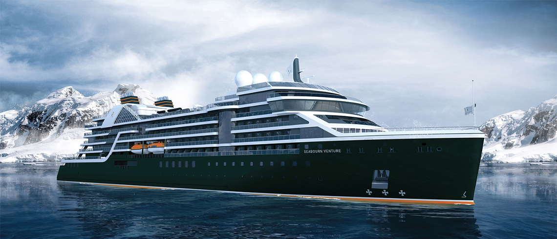 Seabourn Venture Expeditionsschiff
